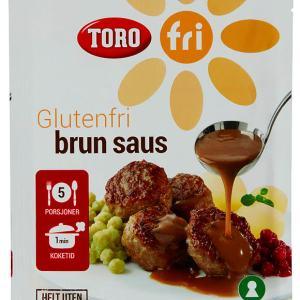 BRUN SAUS GLUTENFRI 32G TORO