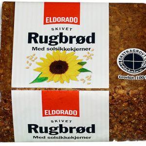 RUGBRØD M/SOLSIKKEKJERNER 500G ELDORADO