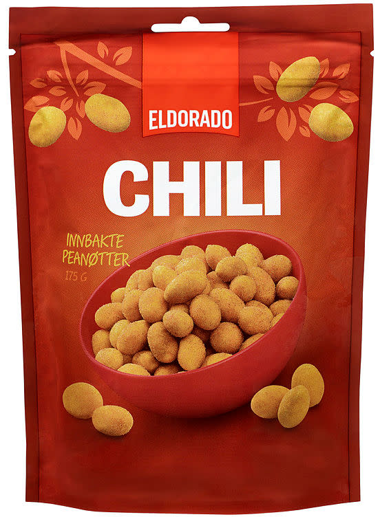 CHILINØTTER 175G ELDORADO