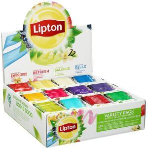 LIPTON TE VARIETY PACK 180STK