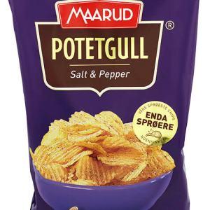 POTETGULL SALT&PEPPER 250G MAARUD