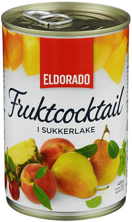 FRUKTCOCKTAIL I LAKE 425G BX ELDORADO
