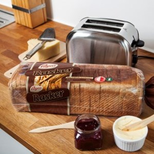 Rasker sandwichbrød 2200g Pågen