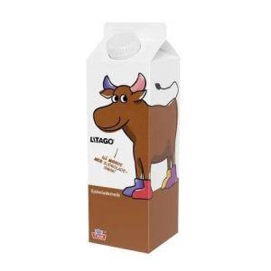 Ingredienser lettmelk, 4% sukker, 1% kakao, stabilisator (karragenan), aromaer. Allergener Inneholder melk eller produkter framstilt av melk Næringsinnhold pr. 100g energi 257 kJ (61 kcal) fett 1,3 g -hvorav mettede fettsyrer 0,8 g karbohydrat 8,8 g -hvorav sukkerarter 8,6 g protein 3,6 g salt 0,09 g riboflavin 0,15 mg (10 %') vitamin B12 0,5 µg (19 %') kalium 219 mg (11 %') kalsium 115 mg (14 %') fosfor 117 mg (17 %') jod 15 µg (10 %') ' av referanseverdien