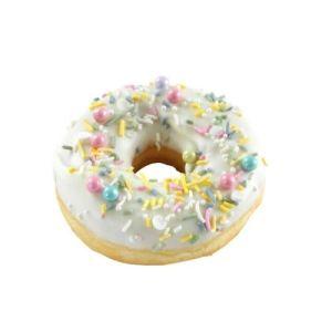 White Sprinkles Doughnut