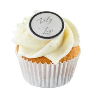 mini logo cupcakes