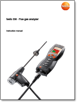 Testo's 330 Portable Combustion Analyzer, a Perfect