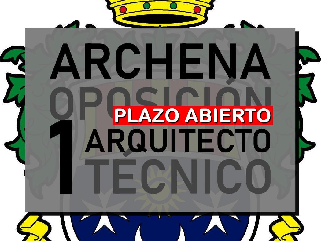 Arquitecto Técnico en Archena