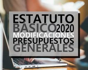Modificaciones en el Estatuto Básico del Empleado Público