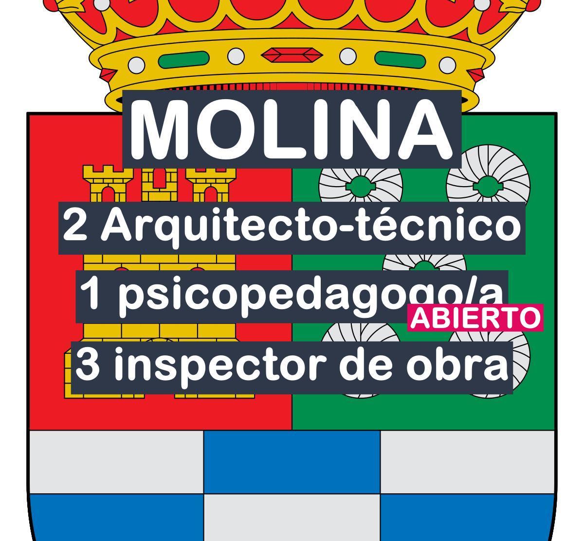 4 procesos de consolidación con lista de espera en Molina