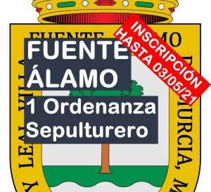 1 plaza de Ordenanza-Sepulturero en Fuente Álamo