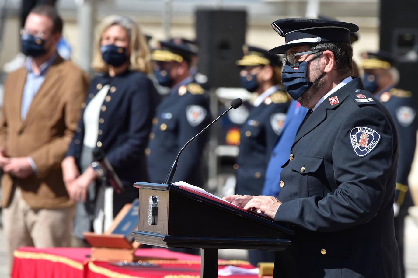 44 aspirantes a agentes de Policía Local de Murcia