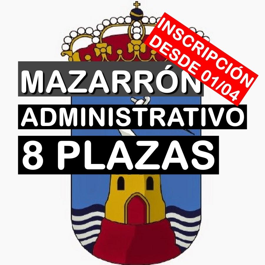 8 plazas de Administrativo en Mazarrón