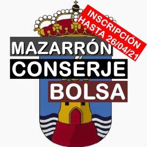 1 Bolsa de empleo de Conserje en Mazarrón