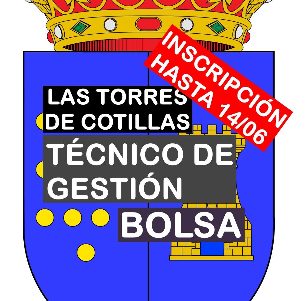 1 bolsa de Técnico de Gestión en Las Torres de Cotillas