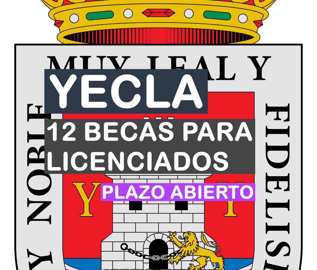 12 becas para licenciados en Yecla