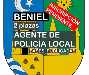 2 Agentes de Policía Local en Beniel
