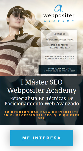 Máster SEO de Webpositer
