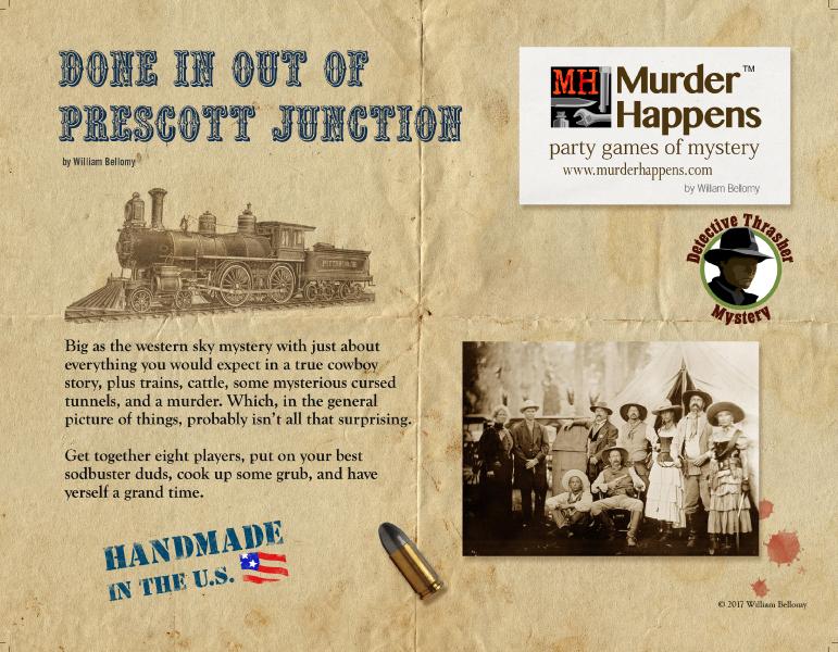 Western on a train murder mystery