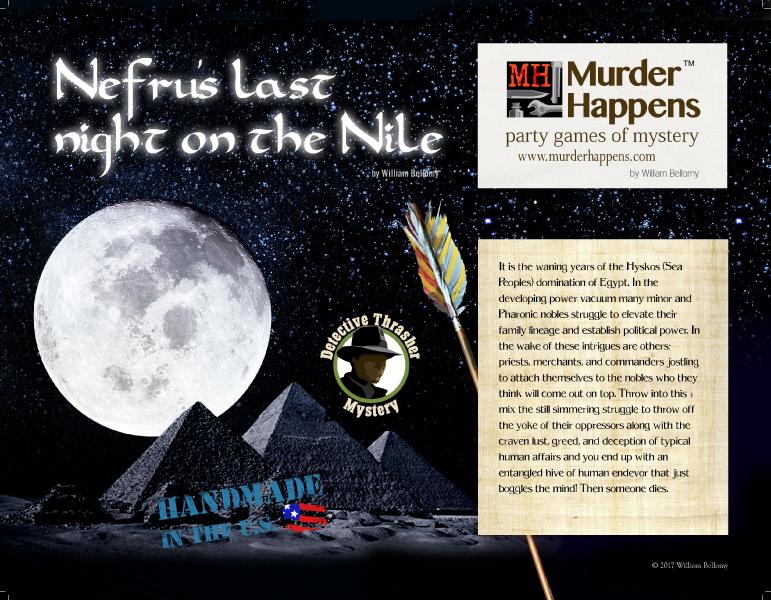 Ancient Egyptian murder mystery