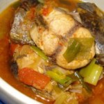 Semur Ikan Tongkol