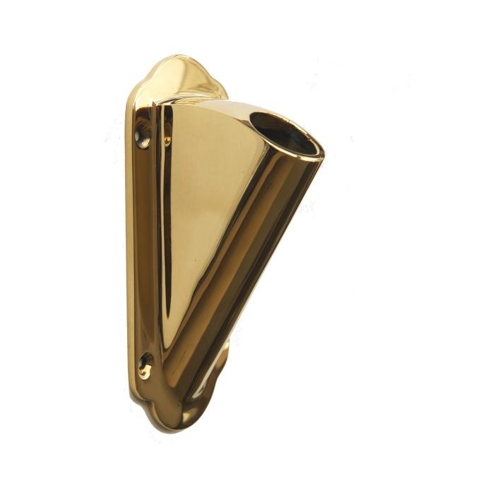 旗立て金物 真鍮製-京都の室金物で販売しております。