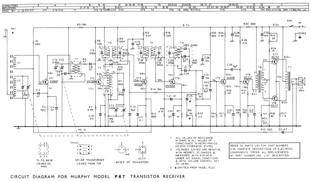 medium resolution of  8 transistor portable 366k