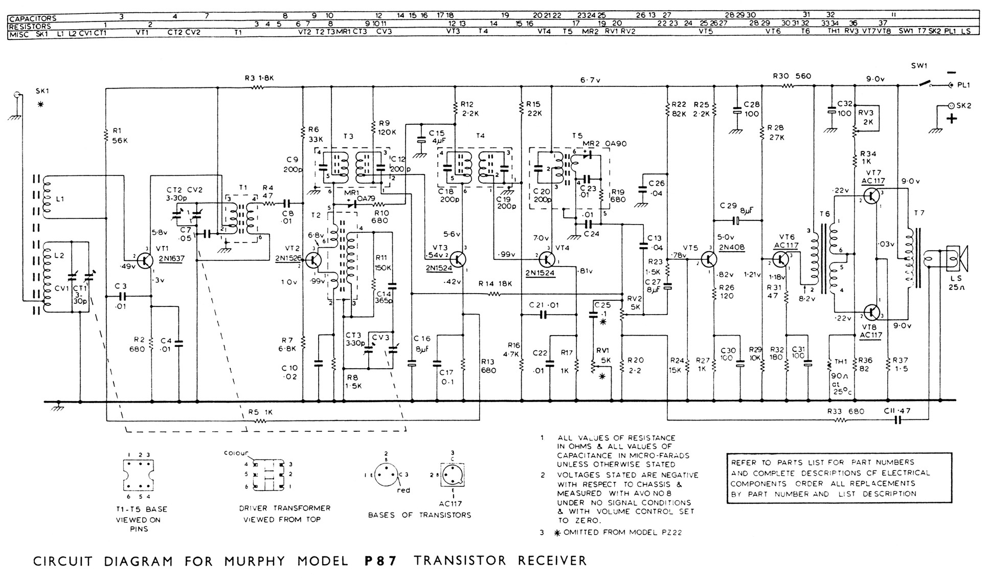 hight resolution of  8 transistor portable 366k