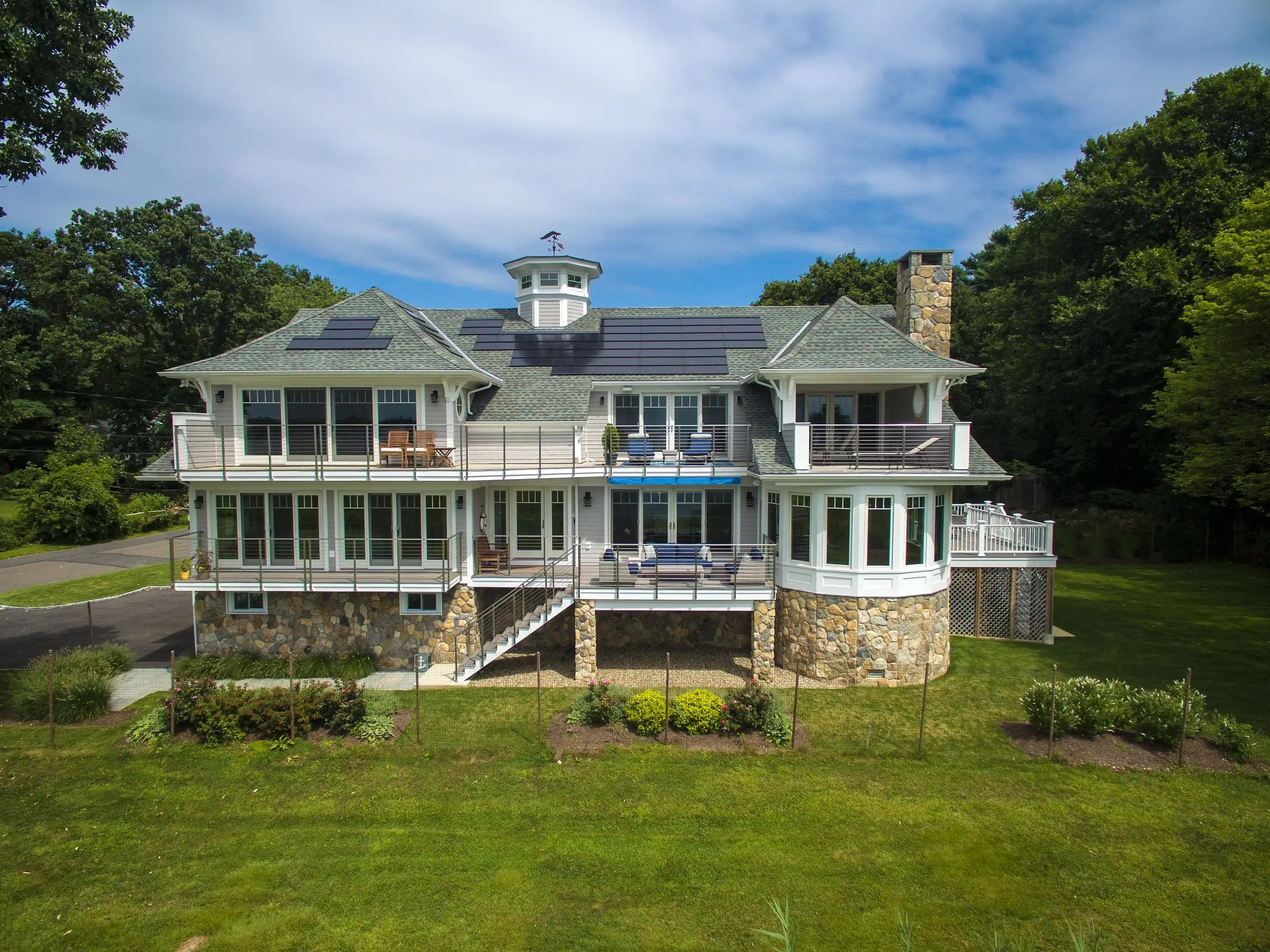 02- Renovated to Perfection with 6 Decks facing Long Island Sound