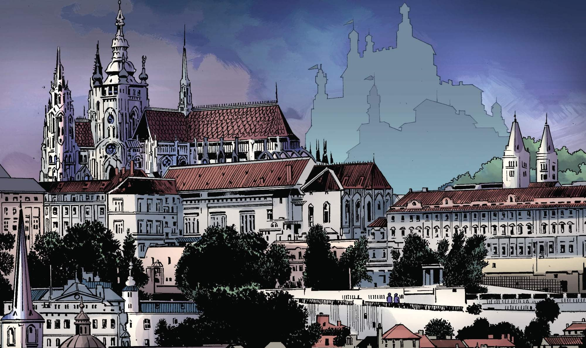 Doomstadt from Fantastic Four Vol 1 566 0001