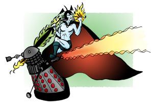 Elric versus Dalek