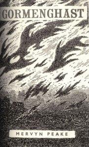 Gormenghast cover by Mervyn Peake