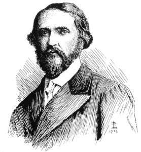 J S Le Fanu, drawn by his son Brinsley Lefanu, 1916
