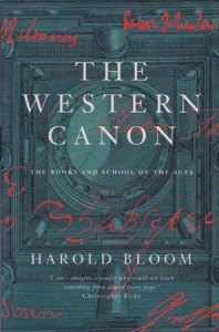 The Western Canon by Harold Bloom
