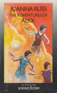Russ's The Adventures of Alyx, cover by Judith Clute