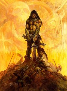 The Barbarian, by Frank Frazetta