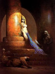 Egyptian Queen, by Frank Frazetta