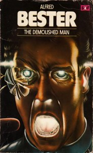 The Demolished Man, cover by Adrian Chesterman