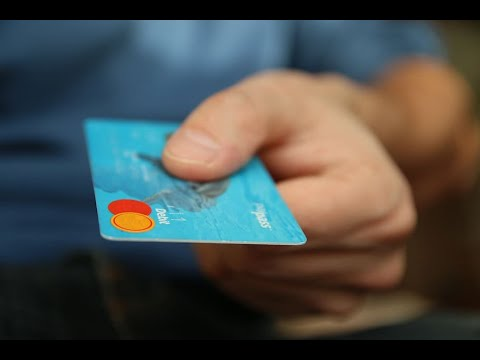 A credit card hand over - payment plans