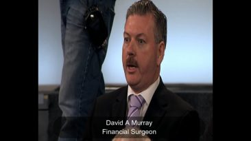 Bank Expert Accountant, David A Murray, in Frontline TV debate