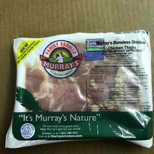 Murray39s ABF Boneless Skinless Thighs Murray39s Chicken