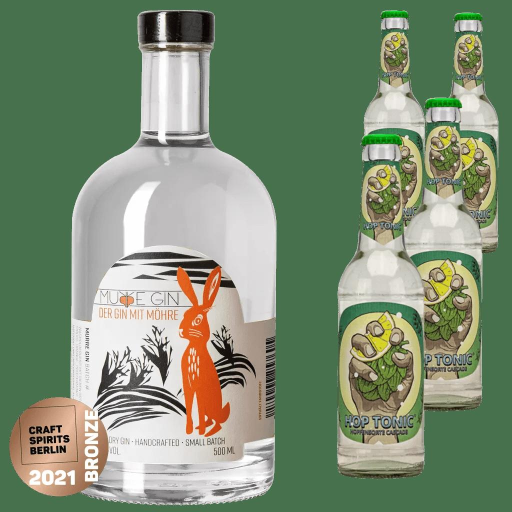 Murre Gin + 4 x Hop Tonic