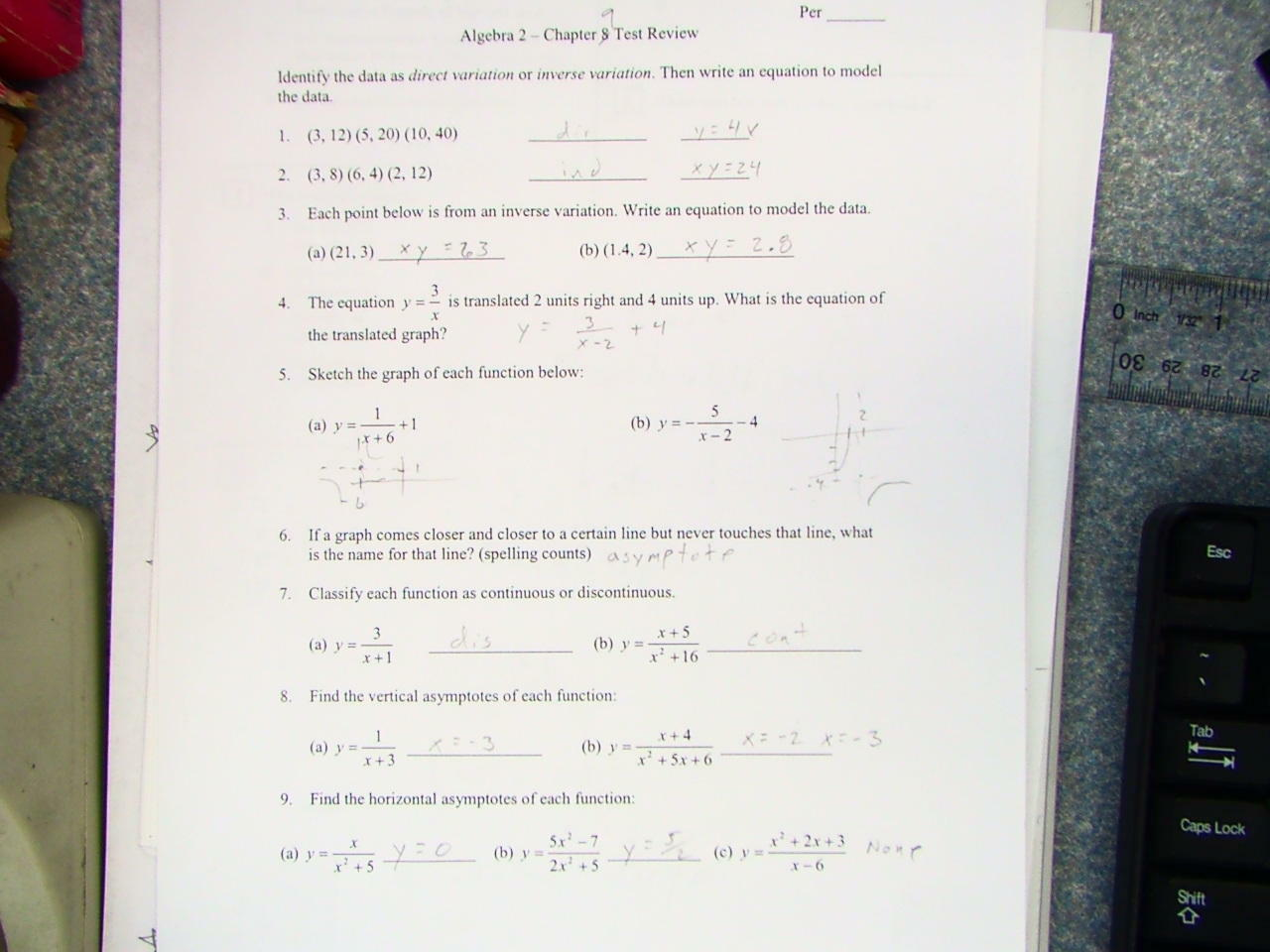 Fitzpatrick Mark Advanced Algebra 2