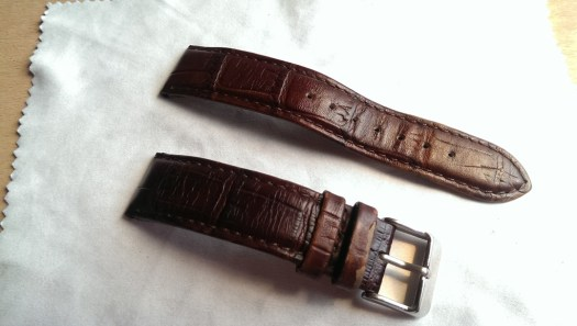 Leather Brown Croco a