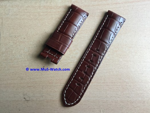 Strap Panerai Brown Alligator b
