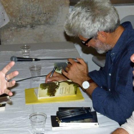 Laurent Gaudé  le 30 septembre à Ville (salle des fêtes, hameau de Guaitella, 17h30 ). Pour seul cortège a été l'un des  coups de cœur de Nathalie Malpelli