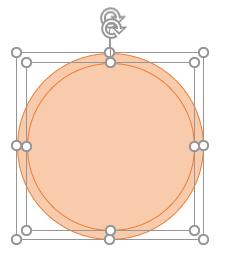大きさの異なる円を重ねる.グリッドに吸い付いてくれるので楽だ