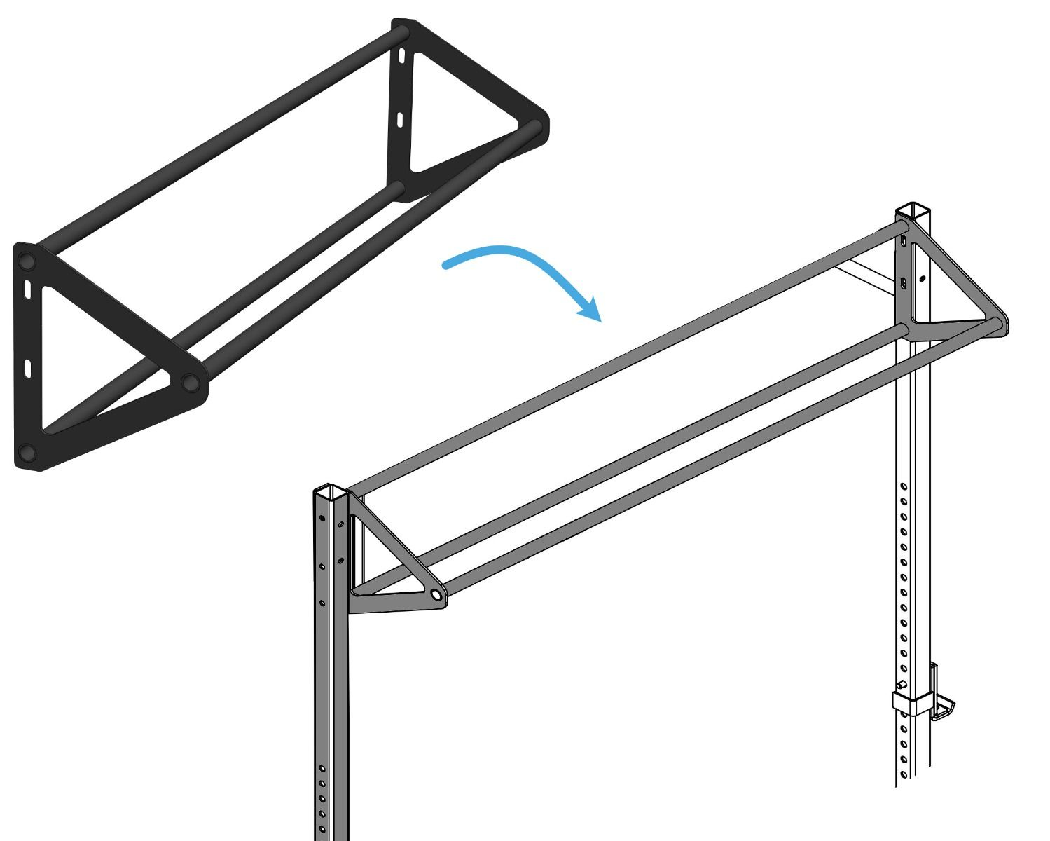 Mp260 Pull Up Triangle 180 Cm