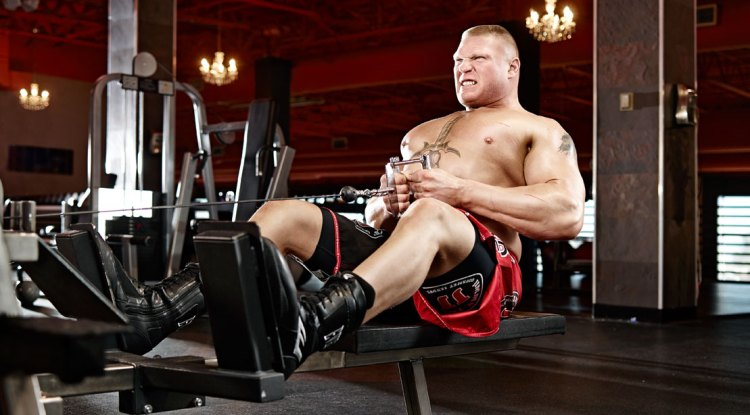 Back with Brock: Lesnar's Pull Day Workout | Muscle & Fitness