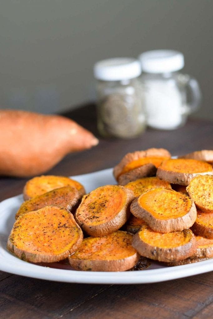 Sweet Potato Rounds - An easy and healthy way to meal prep